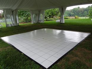 white dance floor rental twin falls and sun valley