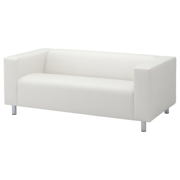 White Love Seat- Rental