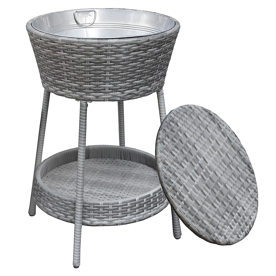 Beverage Cooler Wicker Ice Bucket Rental
