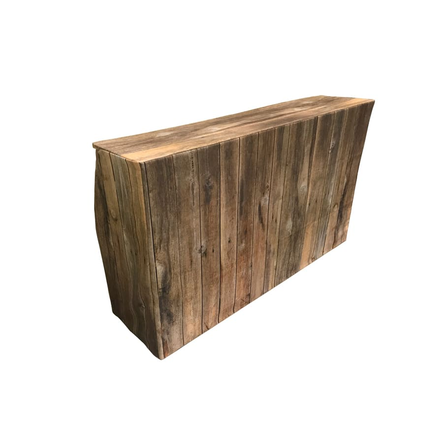 Rustic Wood Bar Rental